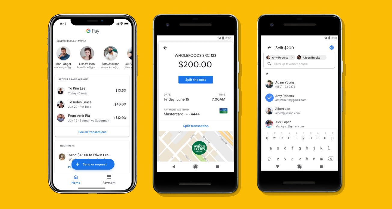 Google Pay Integrates P2P Payments, Mobile Tickets into App