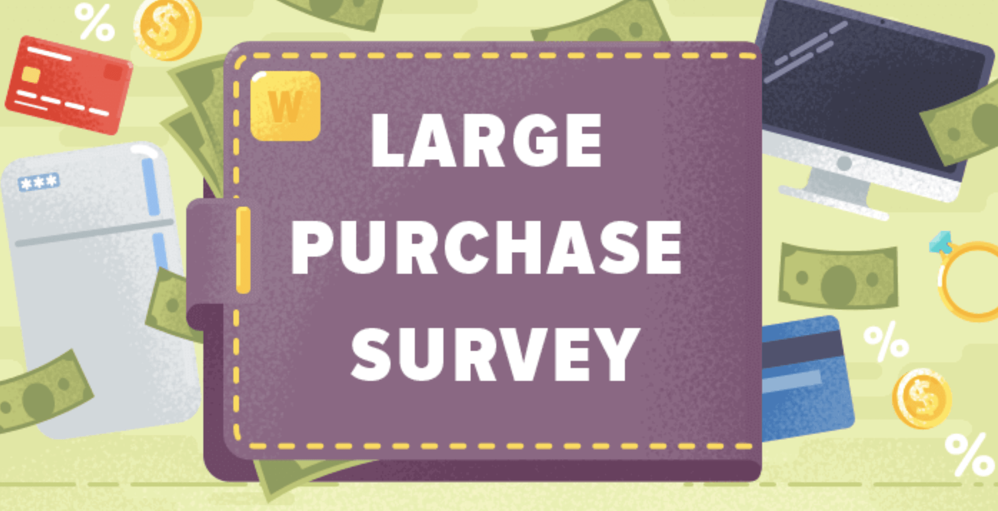 Survey Finds 42% of Americans Avoided Large Purchases Last Year