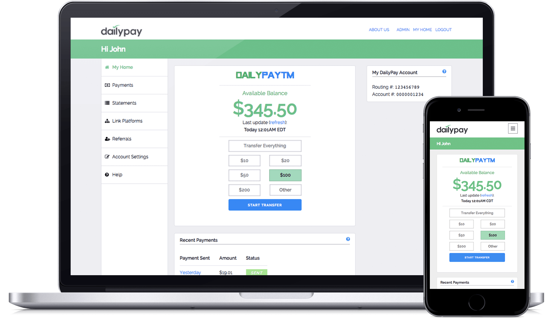 FinTech DailyPay Waiving Fees for Employees to Access Earned Income