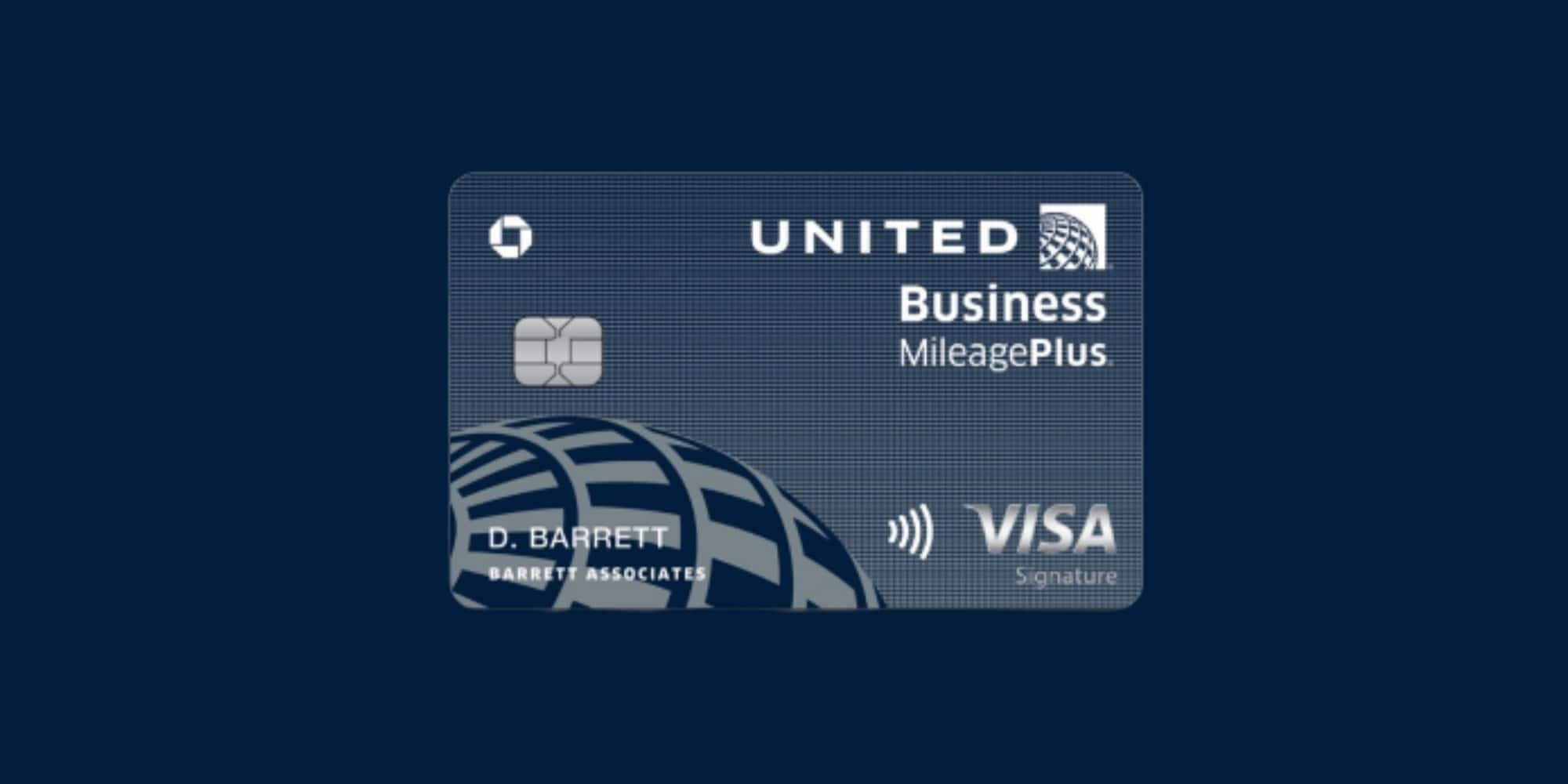 chase and united debut new business credit card